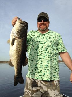 Orlando florida bass fishing guide on lake toho in for Bass fishing lakes near me